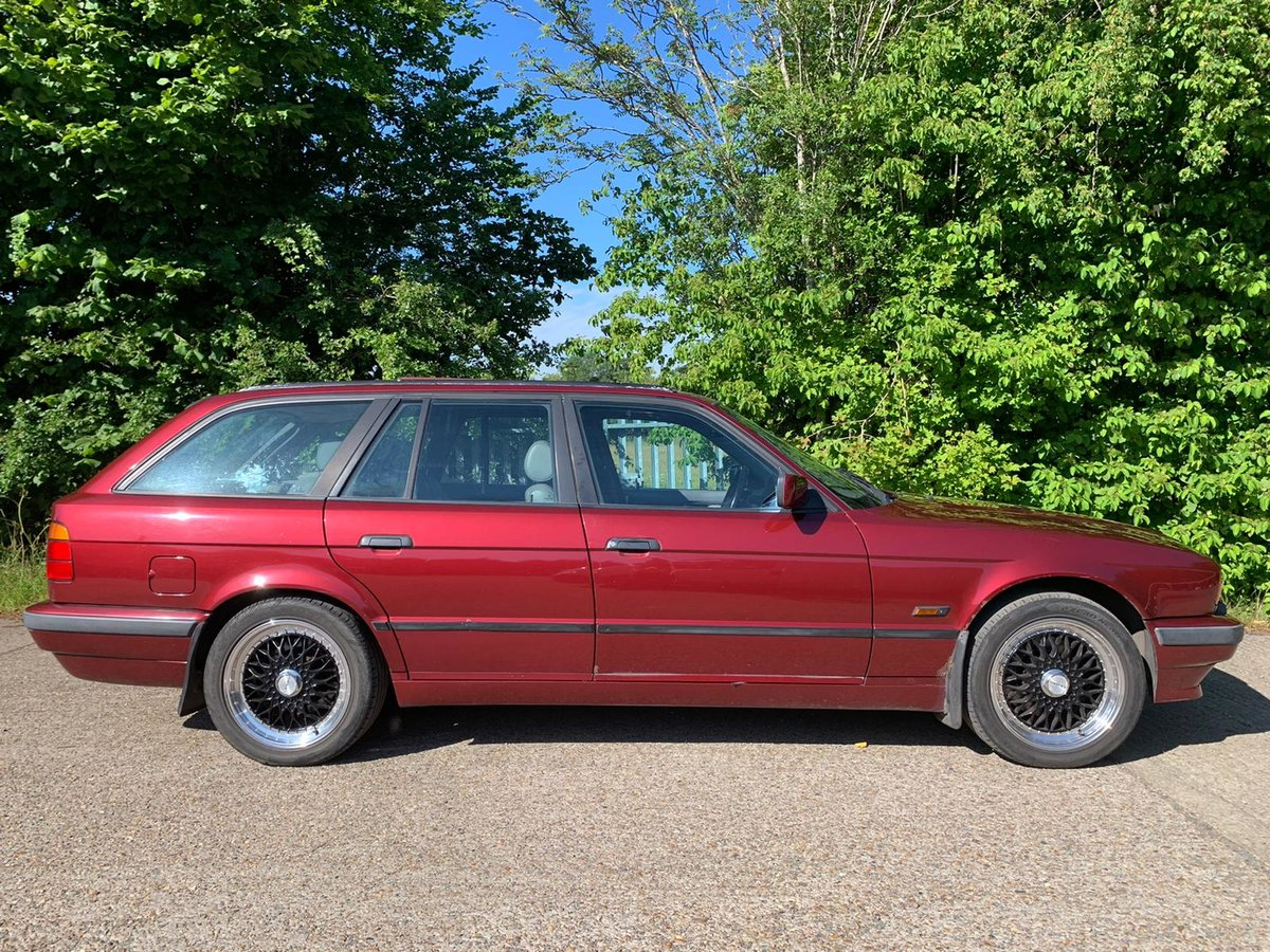 1995 Classic BMW 530 V8 Touring / 2 Former Owners For Sale (picture 2 of 6)