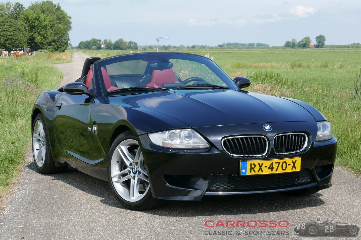 2006 BMW Z4 M Roadster with original only 54.655 kilometers For Sale (picture 1 of 6)