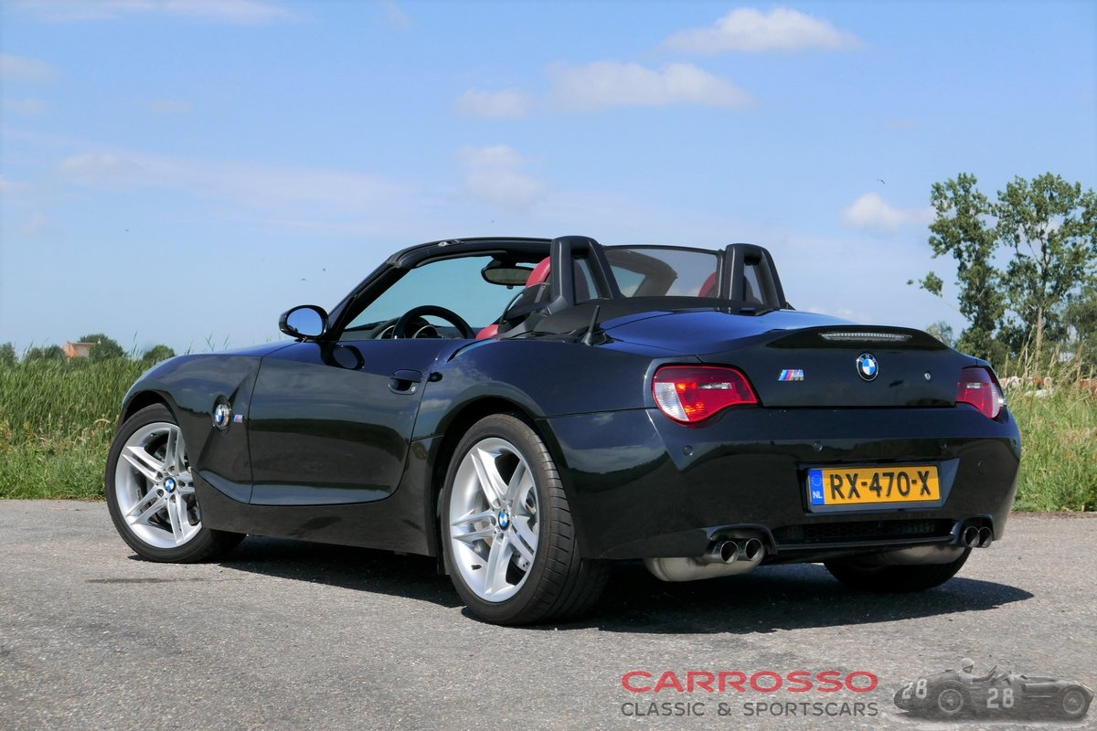 2006 BMW Z4 M Roadster with original only 54.655 kilometers For Sale (picture 2 of 6)
