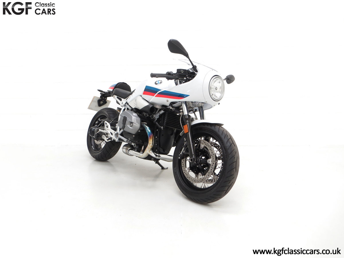 2017 A Race-Bred Retro BMW R nineT Racer Sport with 2,323 Miles SOLD (picture 1 of 24)