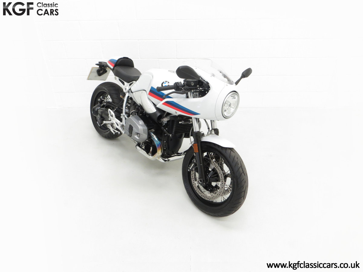 2017 A Race-Bred Retro BMW R nineT Racer Sport with 2,323 Miles SOLD (picture 2 of 24)