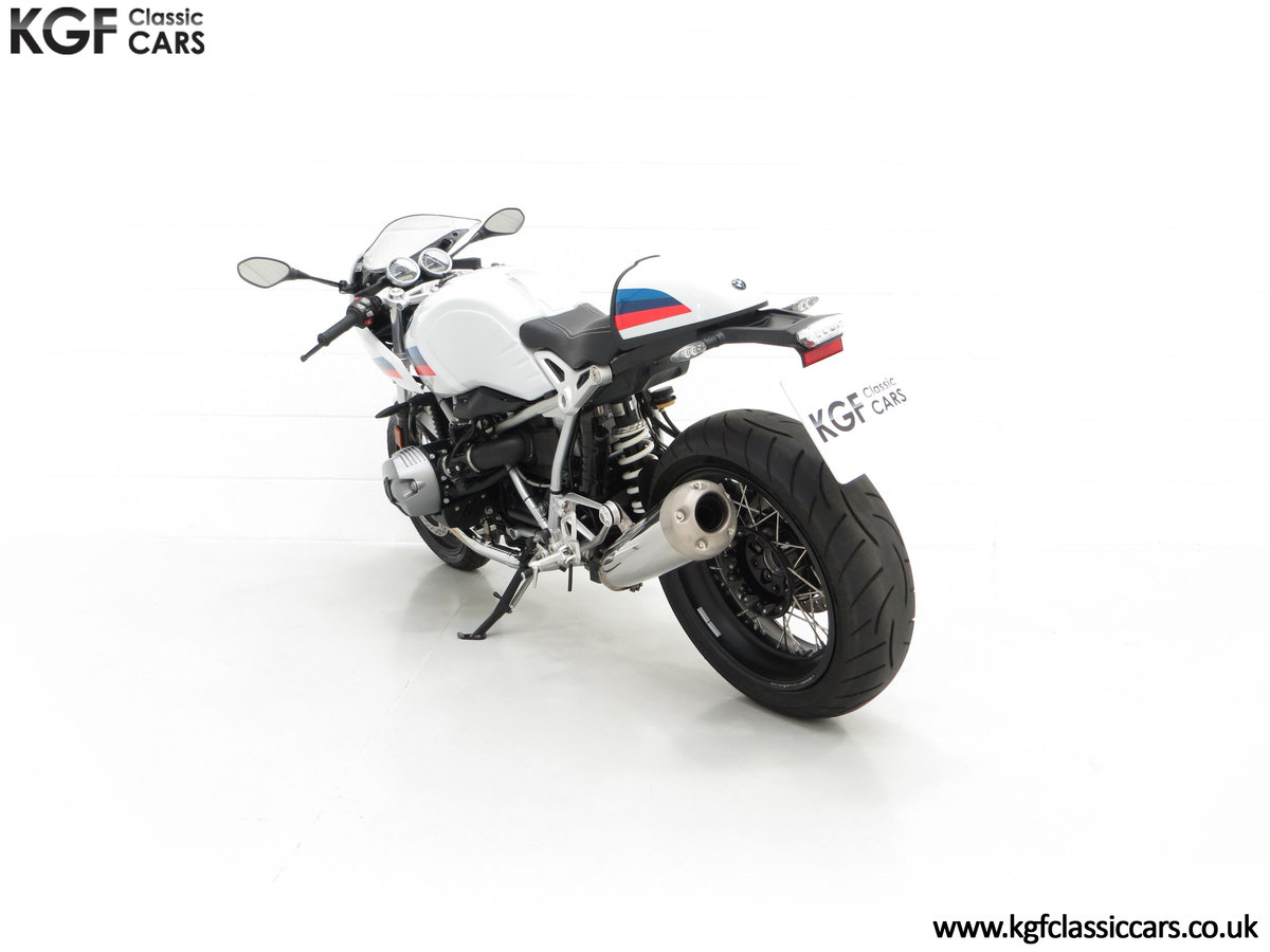 2017 A Race-Bred Retro BMW R nineT Racer Sport with 2,323 Miles SOLD (picture 8 of 24)