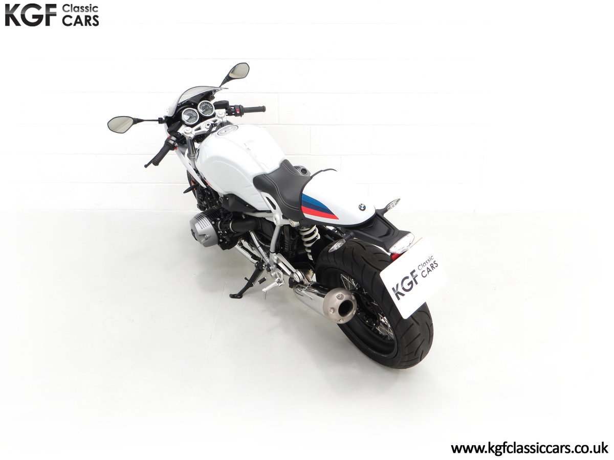 2017 A Race-Bred Retro BMW R nineT Racer Sport with 2,323 Miles SOLD (picture 9 of 24)