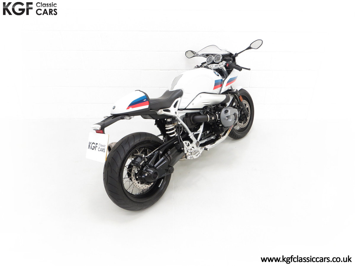 2017 A Race-Bred Retro BMW R nineT Racer Sport with 2,323 Miles SOLD (picture 12 of 24)