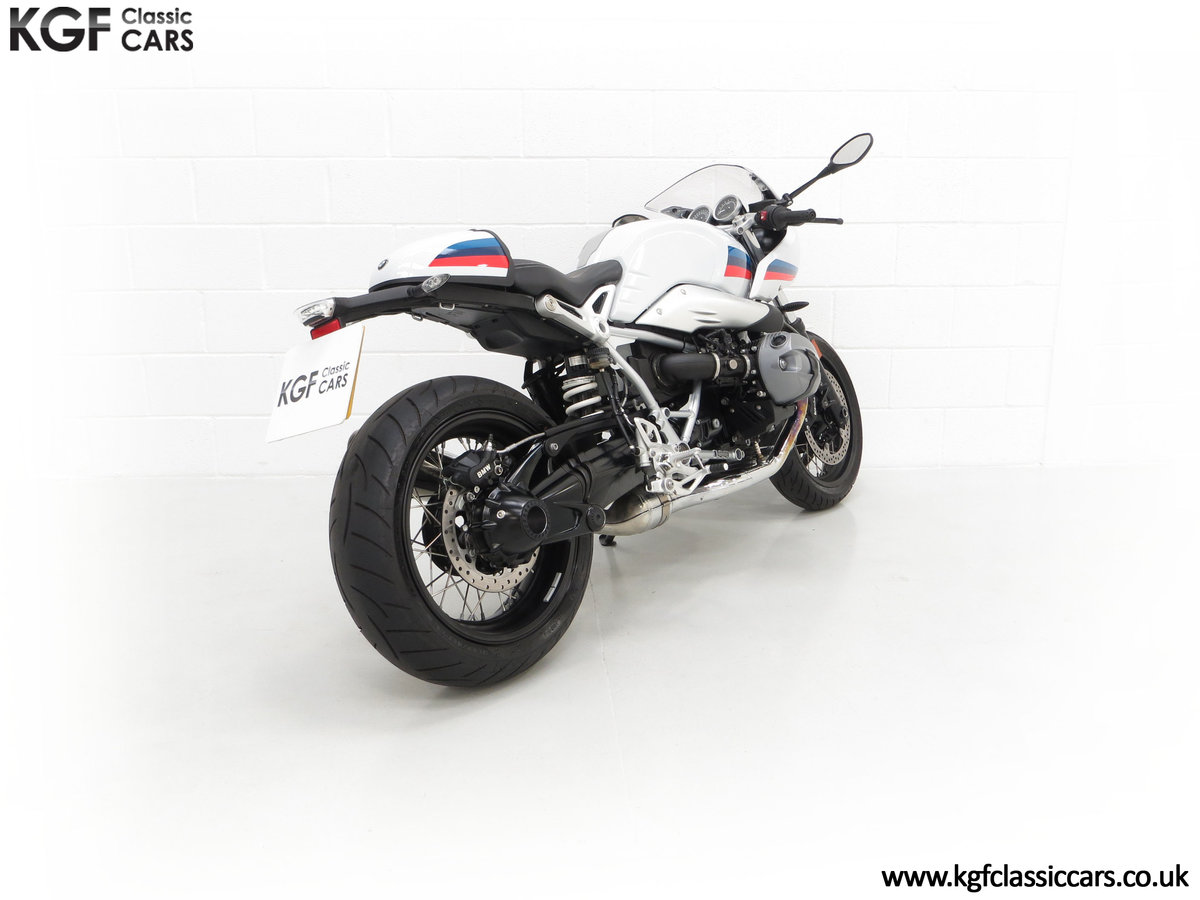 2017 A Race-Bred Retro BMW R nineT Racer Sport with 2,323 Miles For Sale (picture 13 of 24)