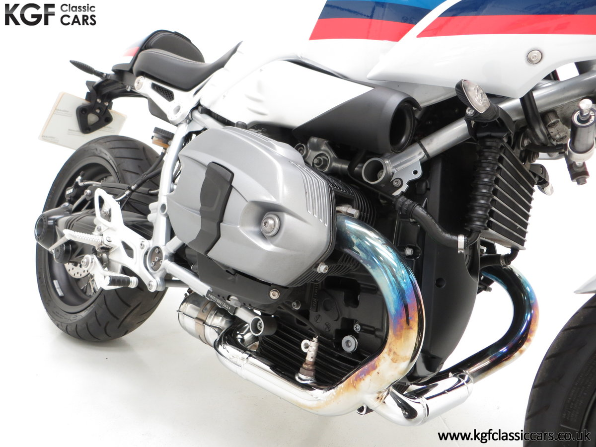 2017 A Race-Bred Retro BMW R nineT Racer Sport with 2,323 Miles SOLD (picture 19 of 24)