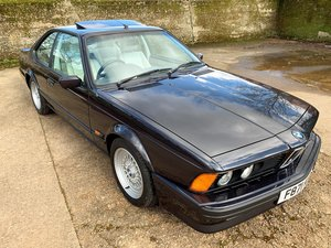 beautiful 1989 BMW E24 635CSi Highline Motorsport Edition SOLD