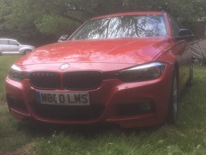 320D ED M SPORT AUTOMATIC TOURING COST c£45,000 NEW! 13,000M