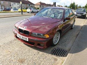 1999 BMW E39 535i V8 Manual 92k Miles Canyon Red