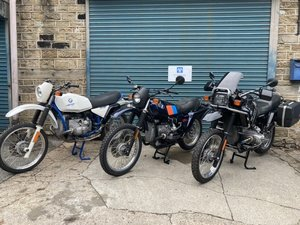 BMW R80G/S 1983. R100GS PD 1995. R80GS BASIC 1996.