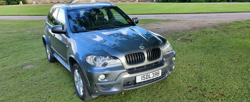2009 LHD BMW X5 3.0d M-SPORT, X-drive, TURBO,LEFT HAND DRIVE For Sale (picture 2 of 6)