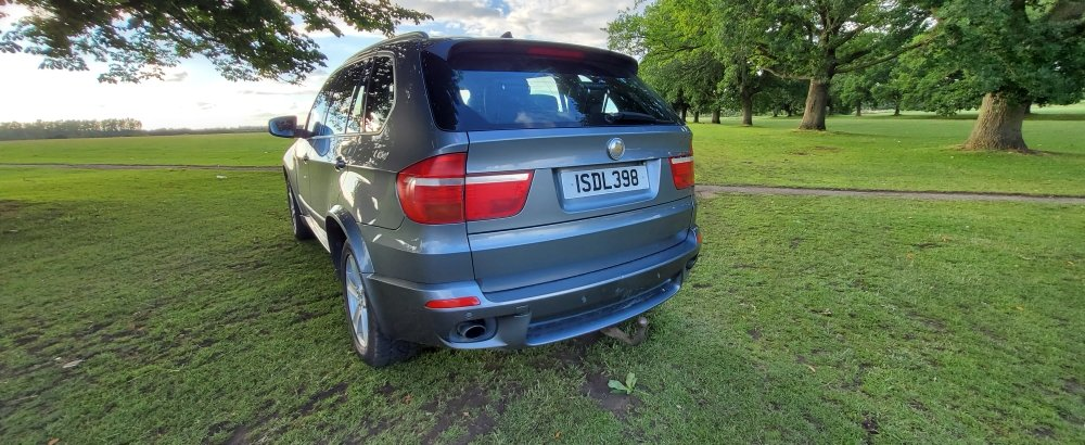 2009 LHD BMW X5 3.0d M-SPORT, X-drive, TURBO,LEFT HAND DRIVE For Sale (picture 4 of 6)