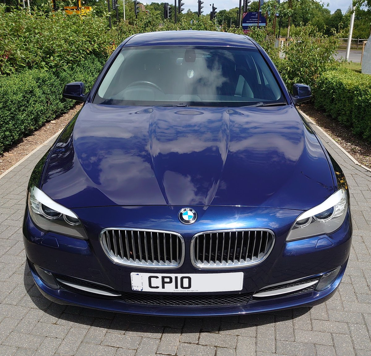 2010 BMW 530d SE + Electric pack - Deep Sea Blue For Sale (picture 1 of 6)