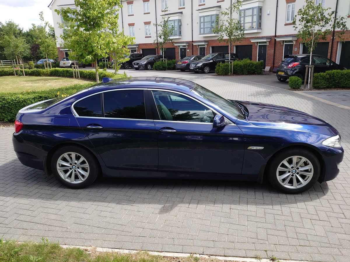 2010 BMW 530d SE + Electric pack - Deep Sea Blue For Sale (picture 4 of 6)