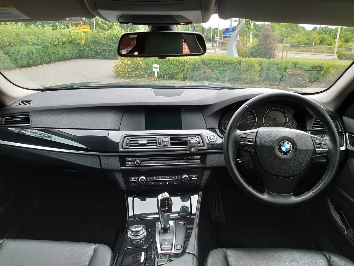 2010 BMW 530d SE + Electric pack - Deep Sea Blue For Sale (picture 6 of 6)