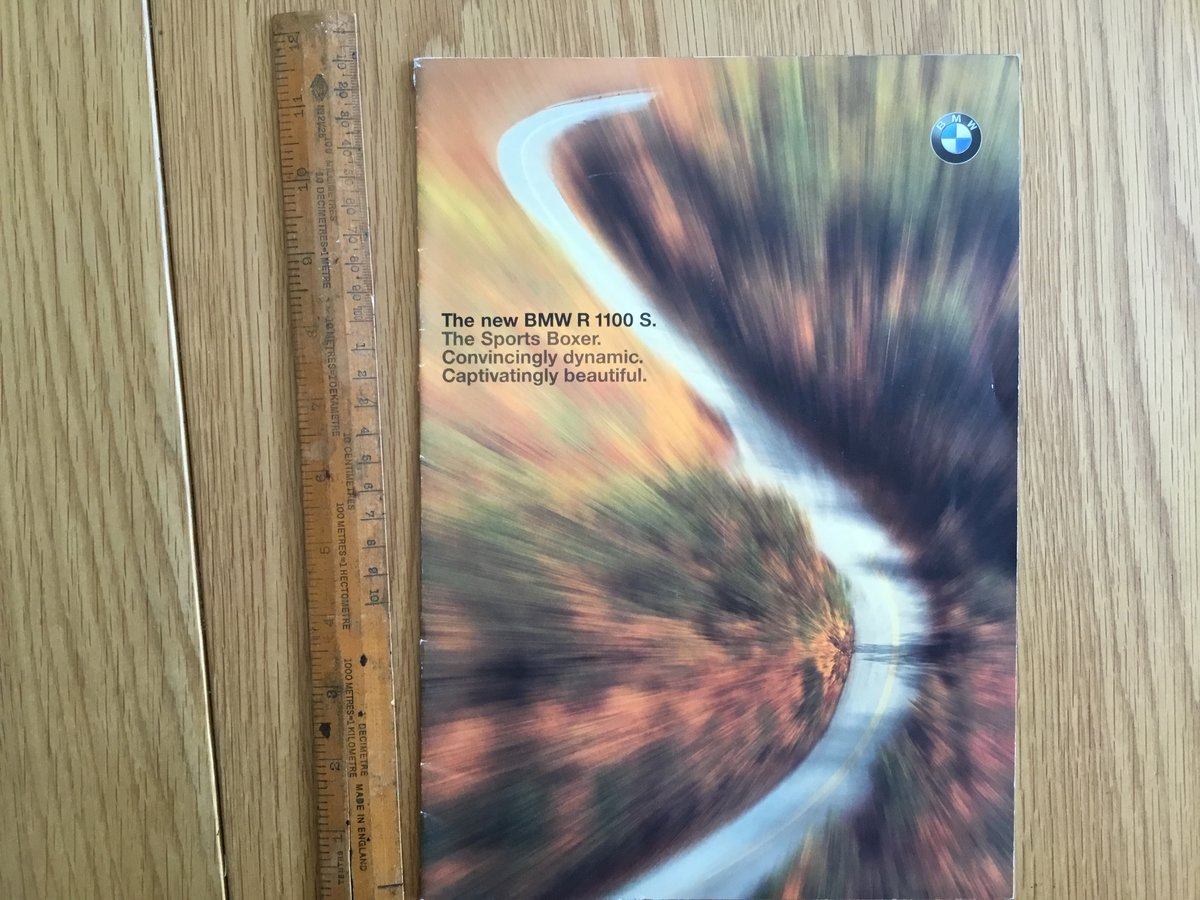 2005 BMW R1100S brochure For Sale (picture 2 of 2)