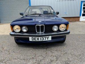 1982 BMW 318 E21