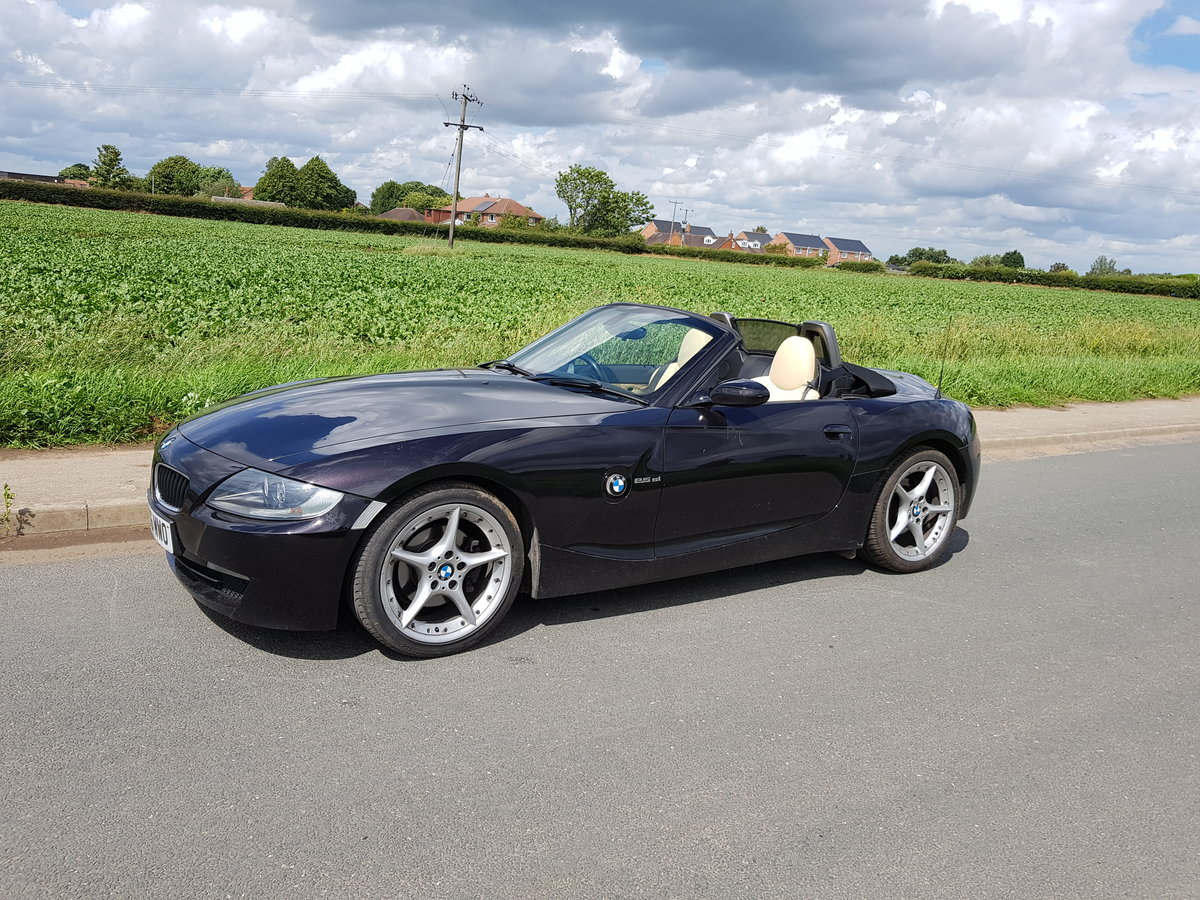 2006 BMW Z4 2.5 SI M sport For Sale (picture 1 of 5)