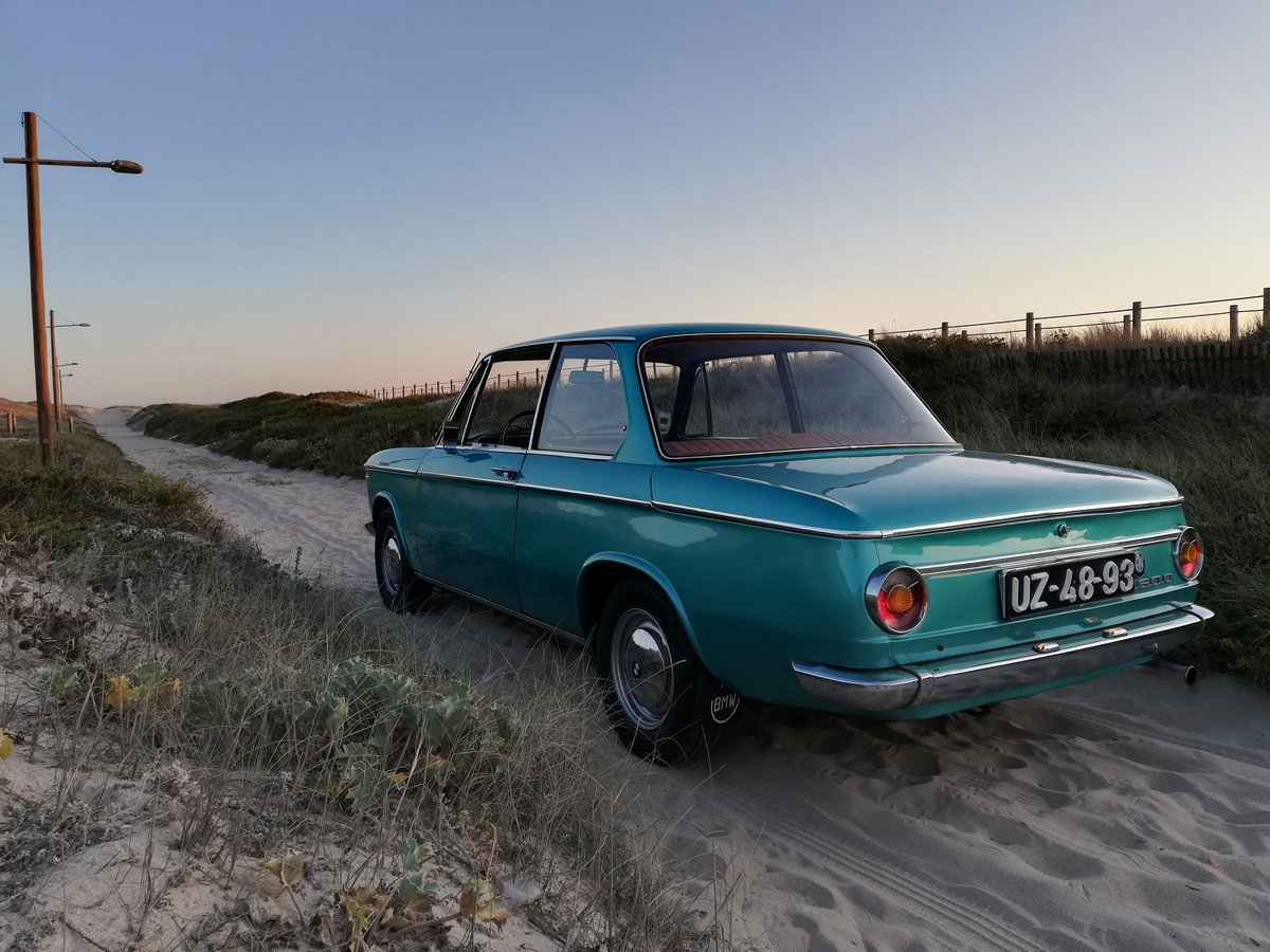 1968 BMW 1600 -2 Excelent condition For Sale (picture 2 of 6)