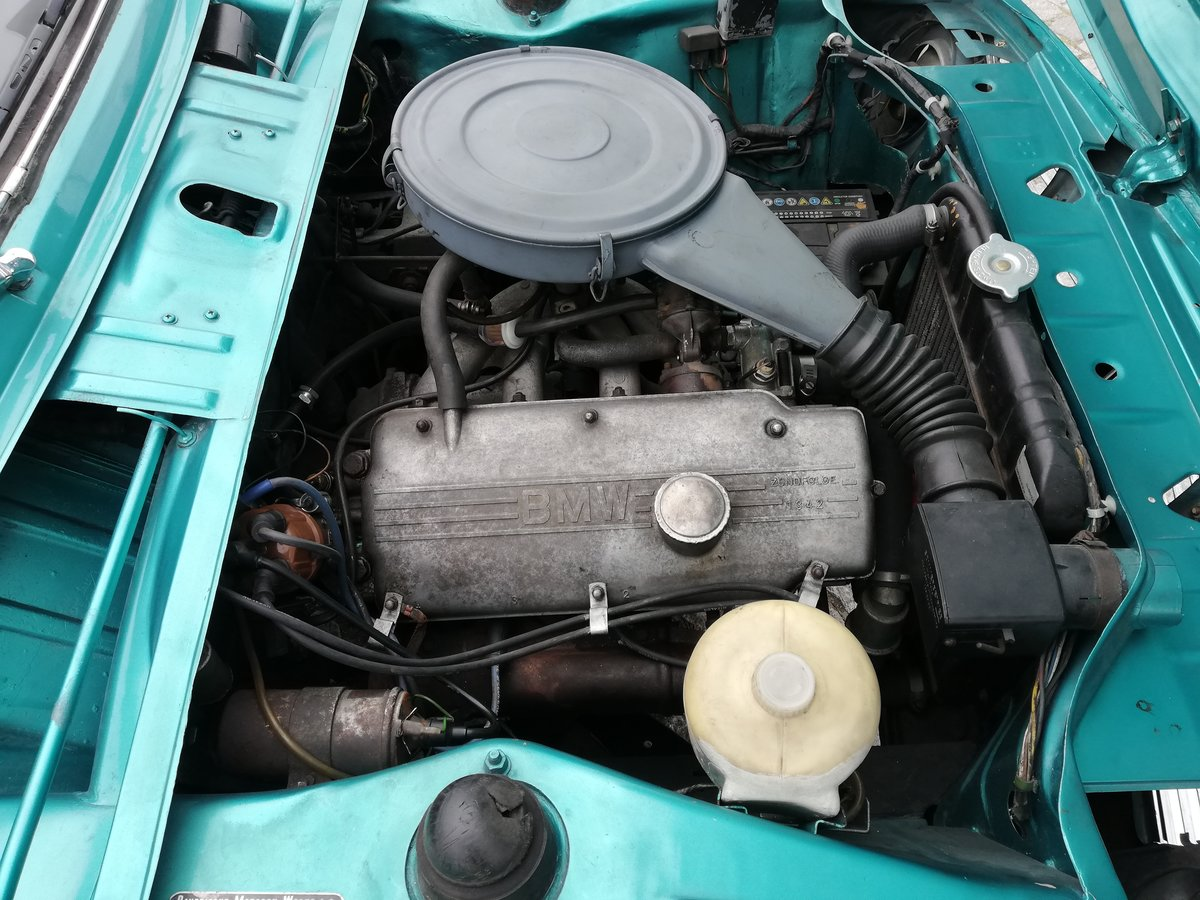1968 BMW 1600 -2 Excelent condition For Sale (picture 5 of 6)