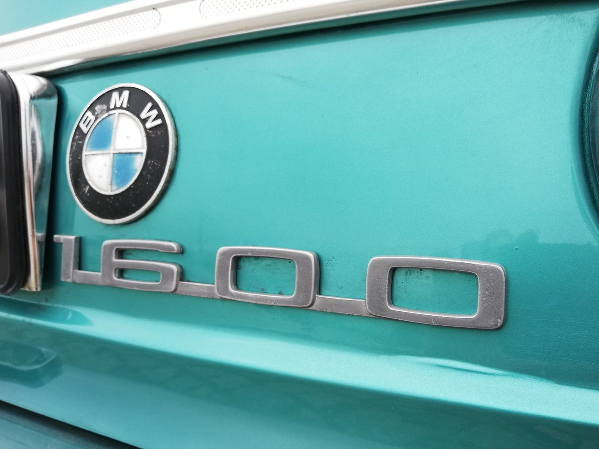 1968 BMW 1600 -2 Excelent condition For Sale (picture 6 of 6)