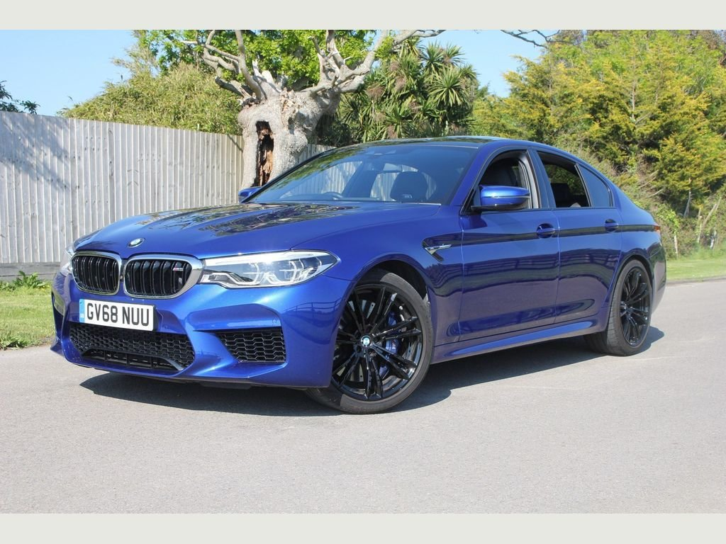 2018 BMW M5 4.4 V8 Steptronic xDrive (s/s) 4dr EXHAUST, HARMON KA For Sale (picture 1 of 1)
