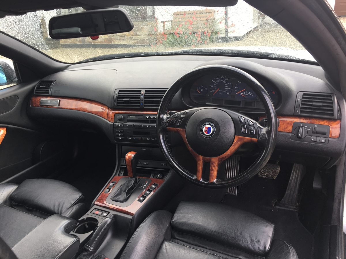 2002 BMW ALPINA B3, 3.3, convertible, rare car For Sale (picture 2 of 6)