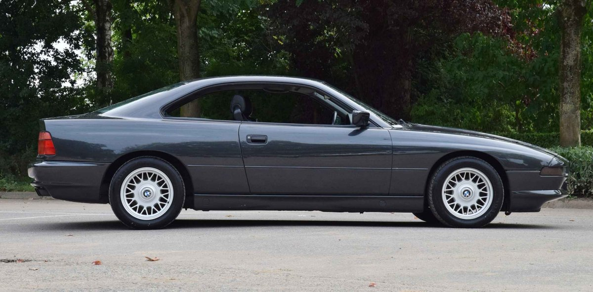 1993 BMW 850i Coupé diamond black 5000cc sports car For Sale (picture 1 of 6)