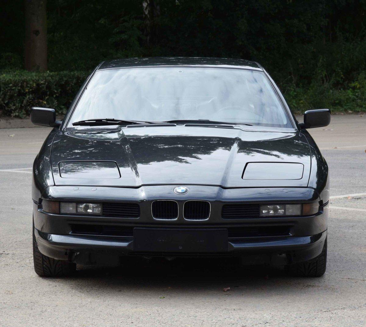 1993 BMW 850i Coupé diamond black 5000cc sports car For Sale (picture 4 of 6)