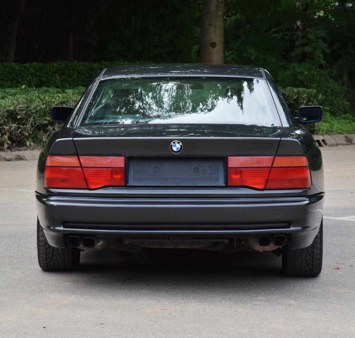 1993 BMW 850i Coupé diamond black 5000cc sports car For Sale (picture 5 of 6)