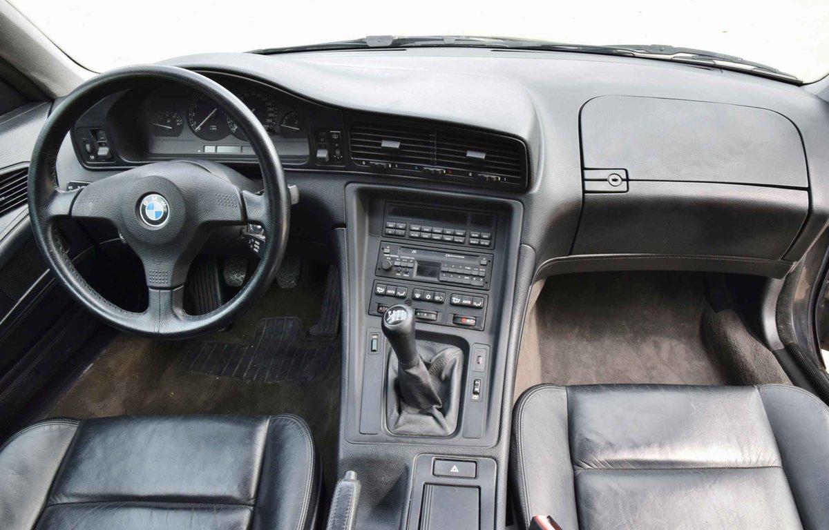 1993 BMW 850i Coupé diamond black 5000cc sports car For Sale (picture 6 of 6)