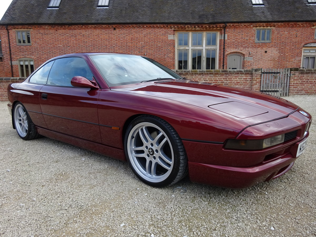BMW 850 CI V12 AUTO 1993 82K MLS VERY RARE CAR 22 LEFT IN UK For Sale (picture 1 of 6)