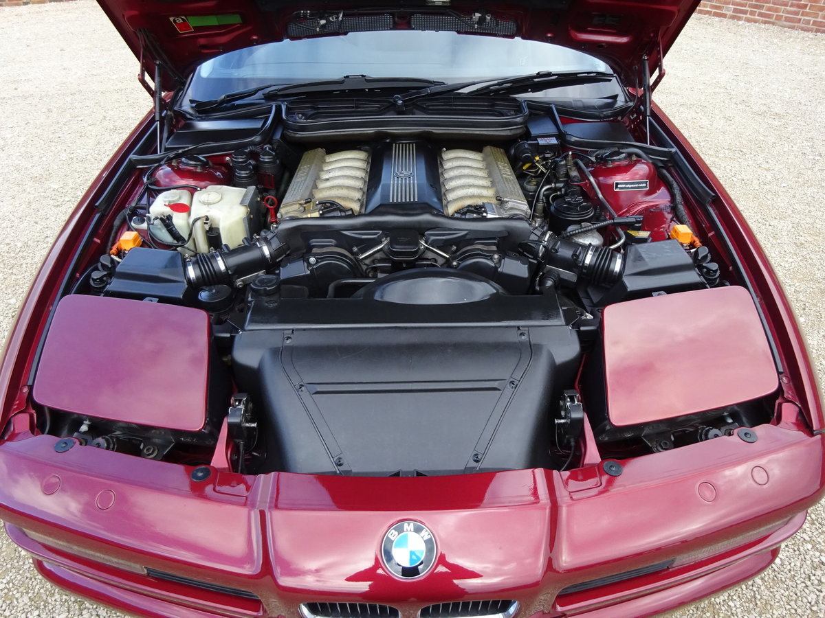 BMW 850 CI V12 AUTO 1993 82K MLS VERY RARE CAR 22 LEFT IN UK For Sale (picture 4 of 6)