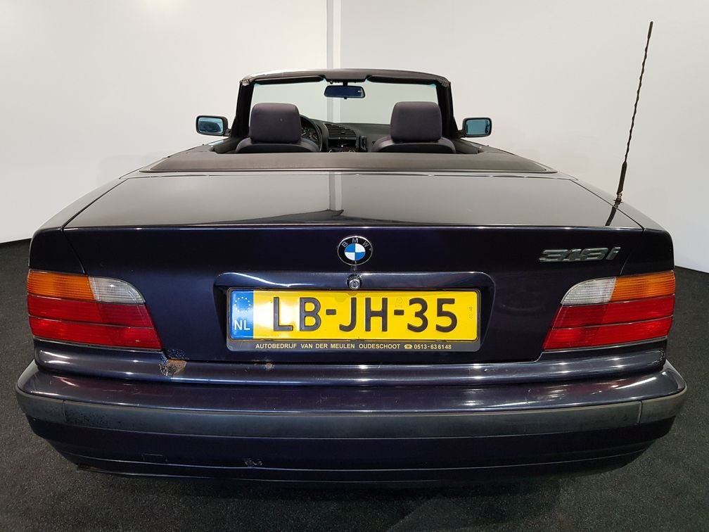 BMW 318i E36 Cabriolet 1995 madeira violet metallic paint For Sale (picture 6 of 6)