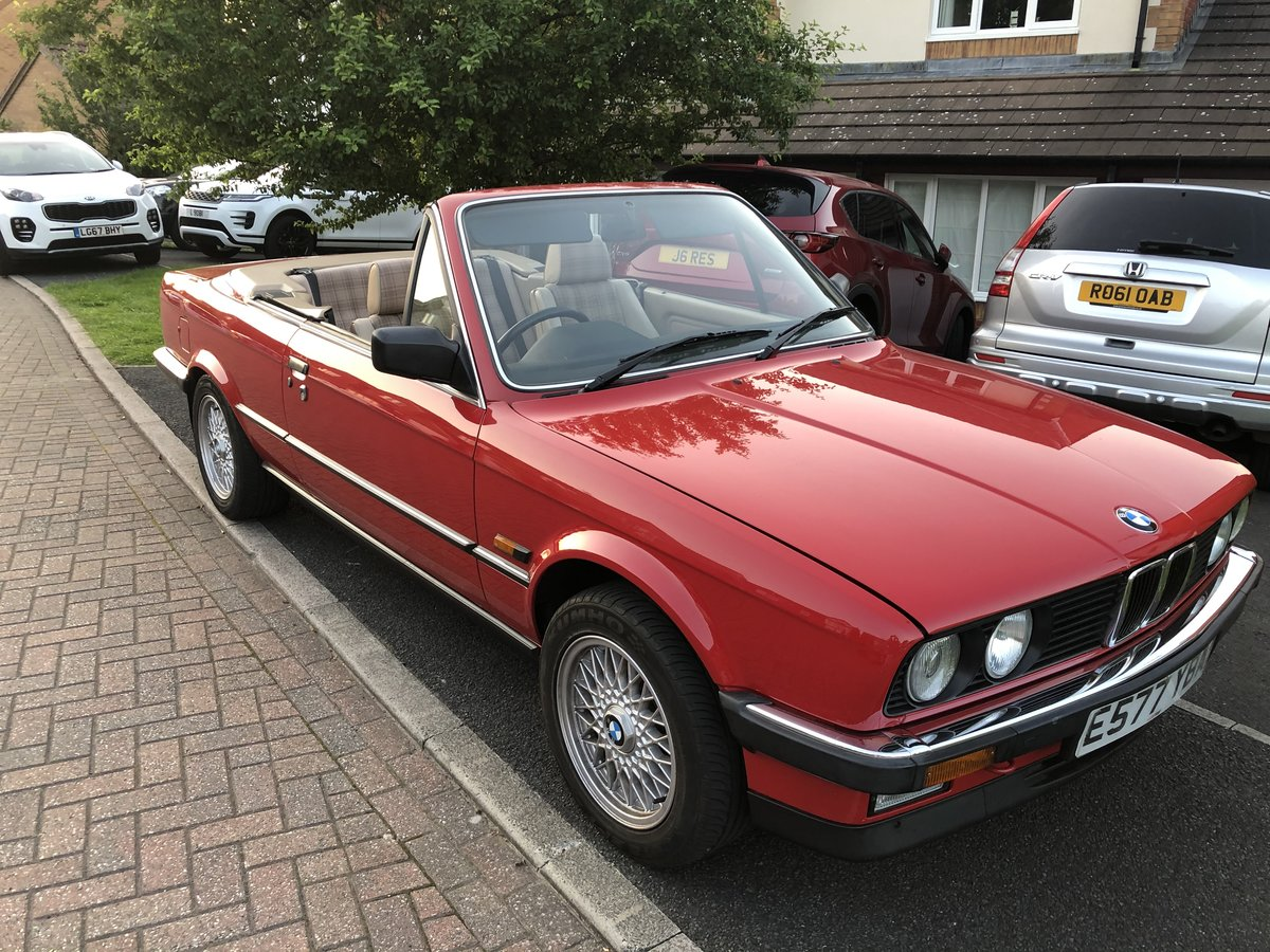 1988 Stunning BMW E30 325i Cabriolet auto For Sale (picture 1 of 6)