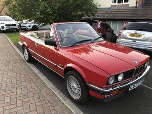 1988 BMW E30 325i Cabriolet auto - now reduced!!!