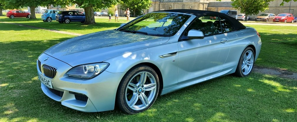 2014 BMW 640D 'M' Sport, Convertible  For Sale (picture 3 of 6)