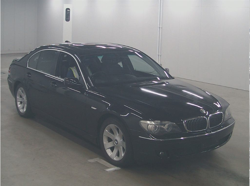 2005 BMW 7 SERIES 740i SALOON * ONLY 13111 MILES * NASCA BLACK For Sale (picture 1 of 6)