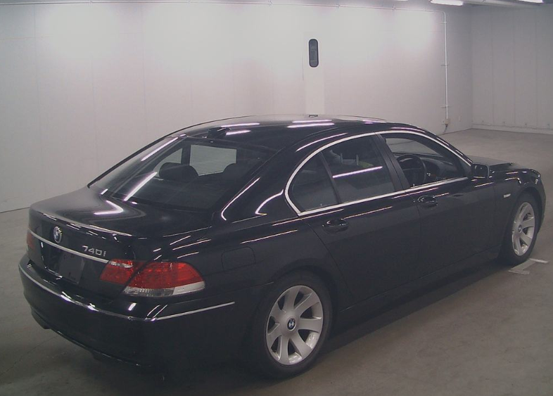 2005 BMW 7 SERIES 740i SALOON * ONLY 13111 MILES * NASCA BLACK For Sale (picture 4 of 6)