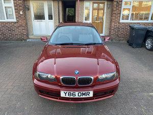 2001 BMW E46 325Ci SE - 35511 miles