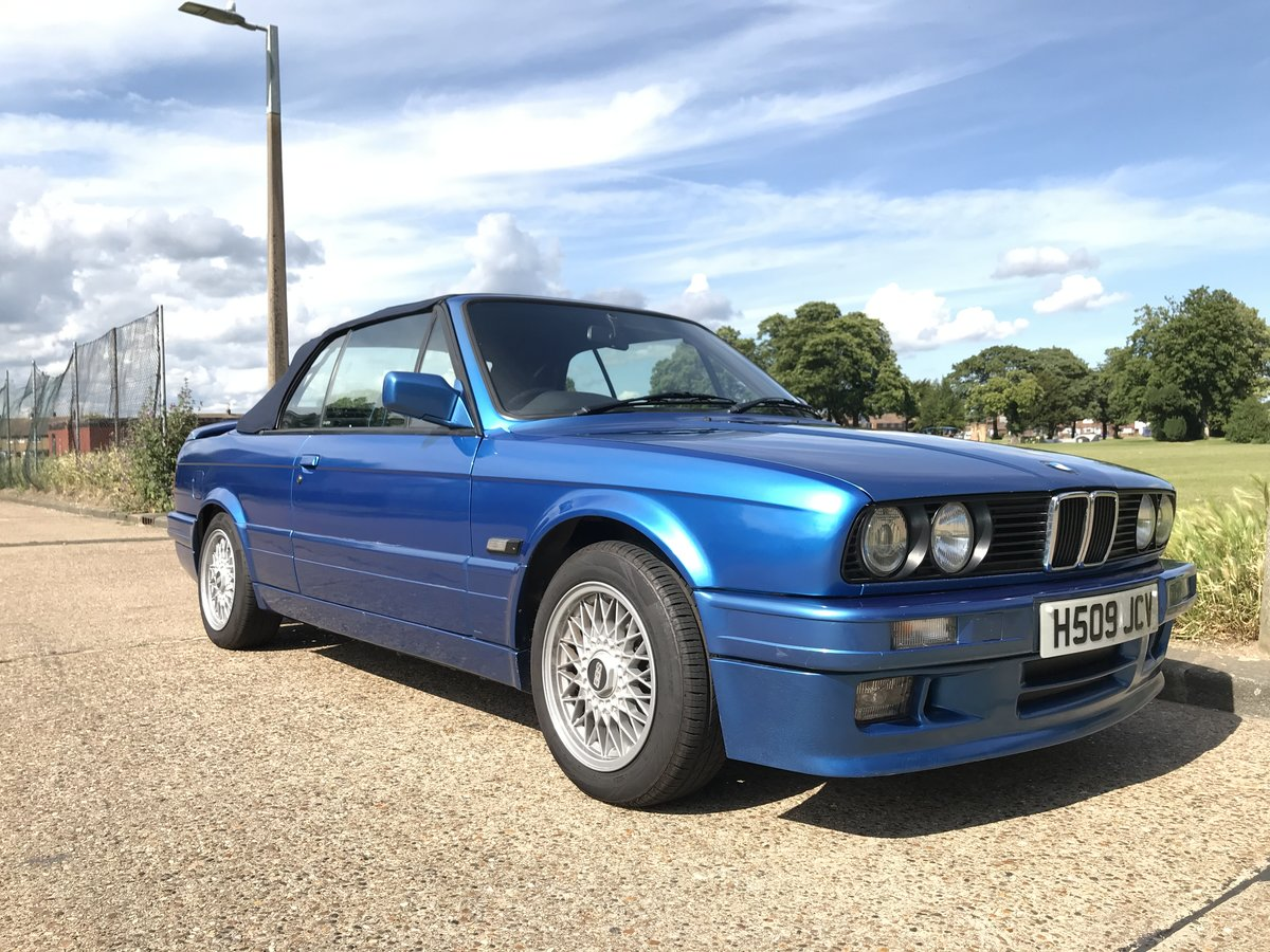 1991 BMW E30 318i M TECH 2 Manual Design Edition For Sale (picture 1 of 6)