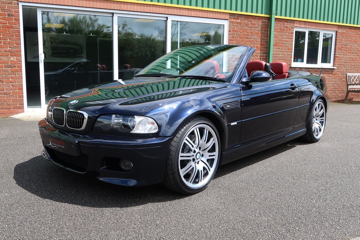 2003 Low Mileage BMW M3 Cabriolet 6 Speed Manual  SOLD (picture 1 of 6)