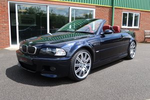 2003 Low Mileage BMW M3 Cabriolet 6 Speed Manual