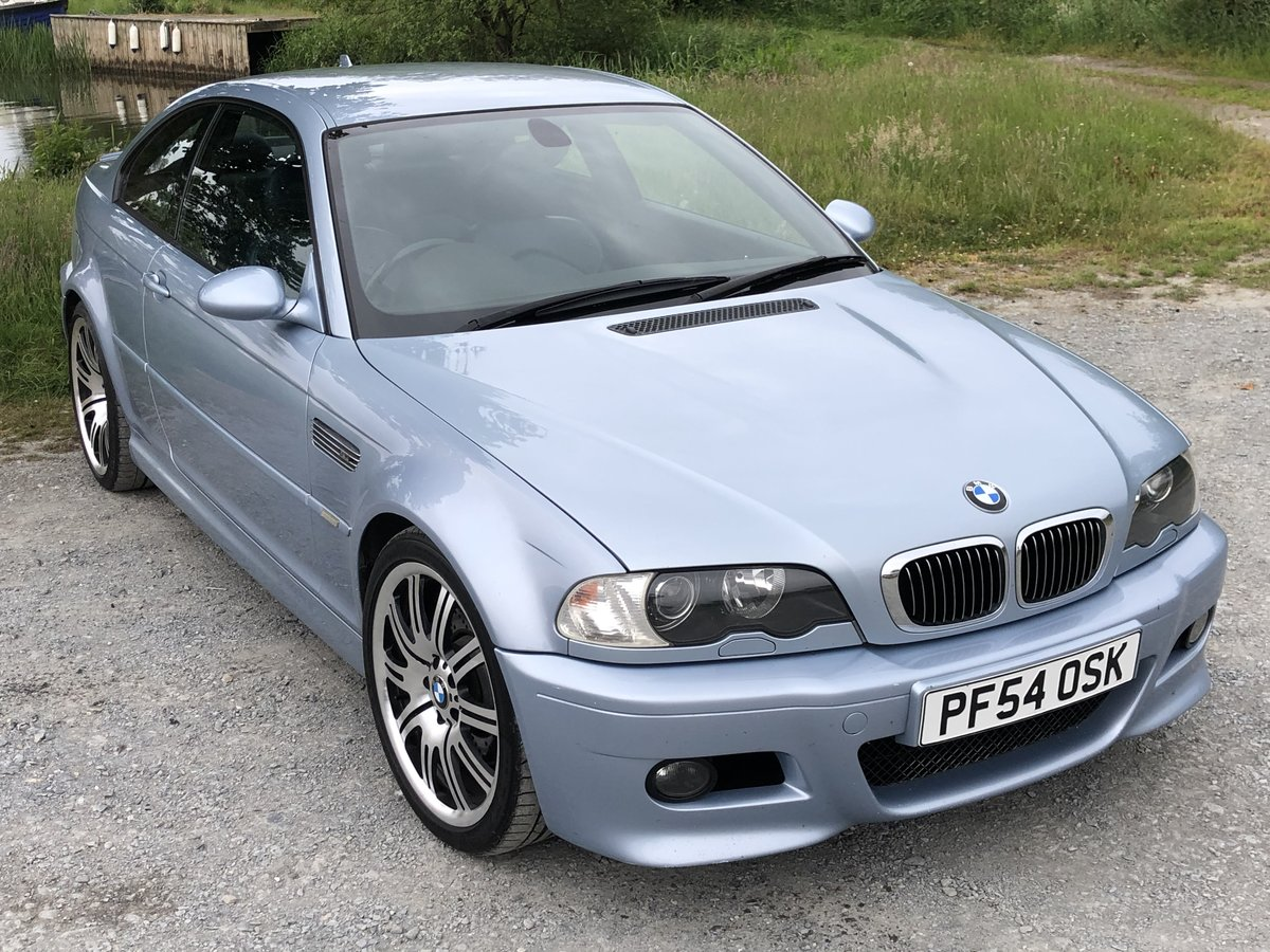 2005 BMW M3 E46 INDIVIDUAL SILVERSTONE BLUE MANUAL For Sale (picture 1 of 6)