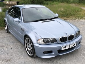 2005 BMW M3 E46 INDIVIDUAL SILVERSTONE BLUE MANUAL