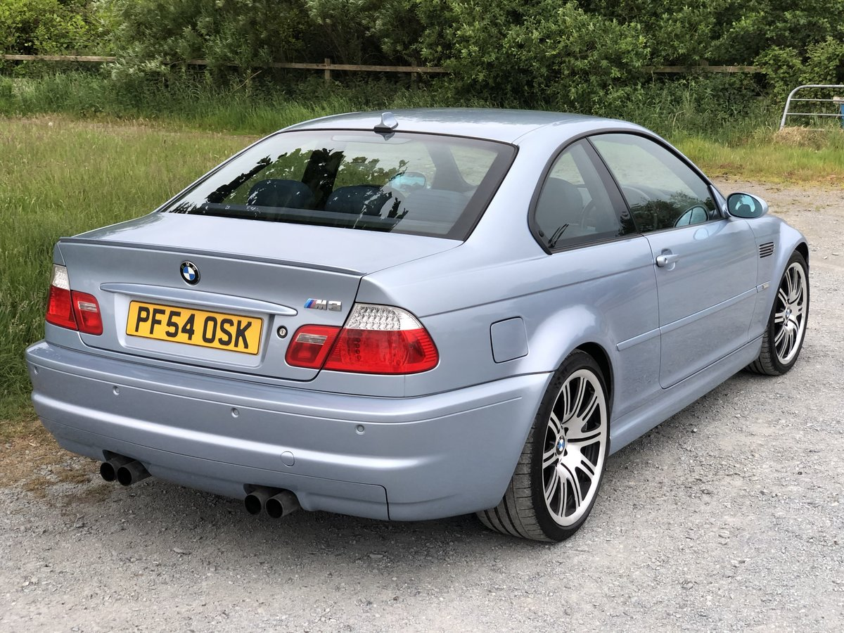 2005 BMW M3 E46 INDIVIDUAL SILVERSTONE BLUE MANUAL For Sale (picture 2 of 6)