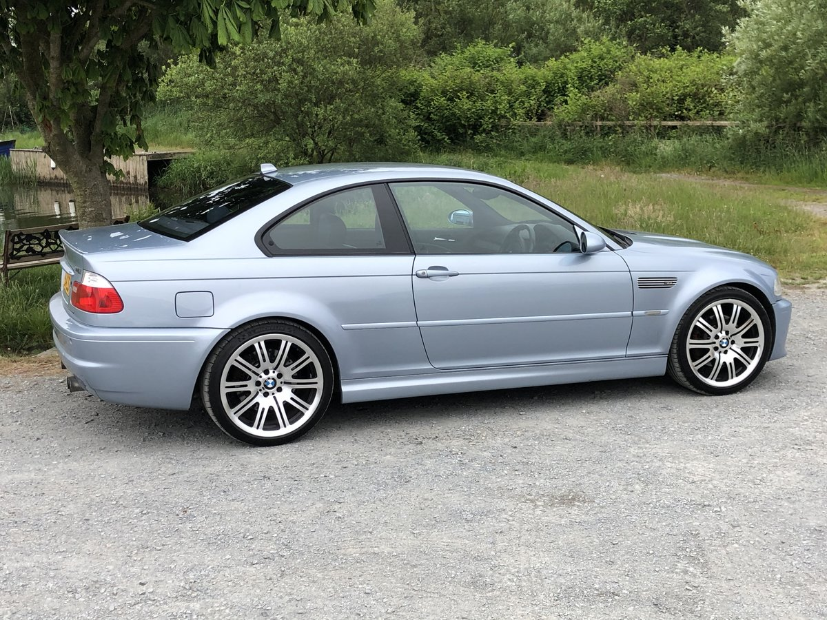 2005 BMW M3 E46 INDIVIDUAL SILVERSTONE BLUE MANUAL For Sale (picture 3 of 6)