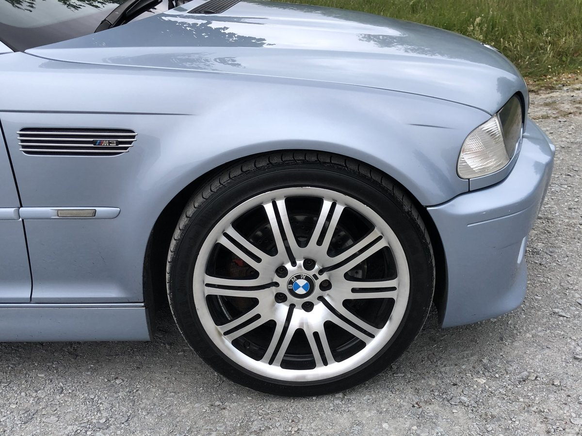 2005 BMW M3 E46 INDIVIDUAL SILVERSTONE BLUE MANUAL For Sale (picture 6 of 6)