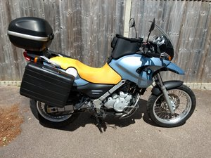 2001 BMW F650 GS. Great commuter and tourer.