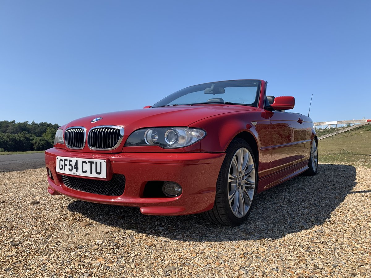2004 bmw e46 325 Msport convertible Imola Red  For Sale (picture 1 of 6)